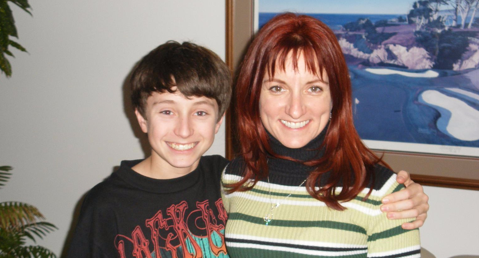 Ian and Mom 2007