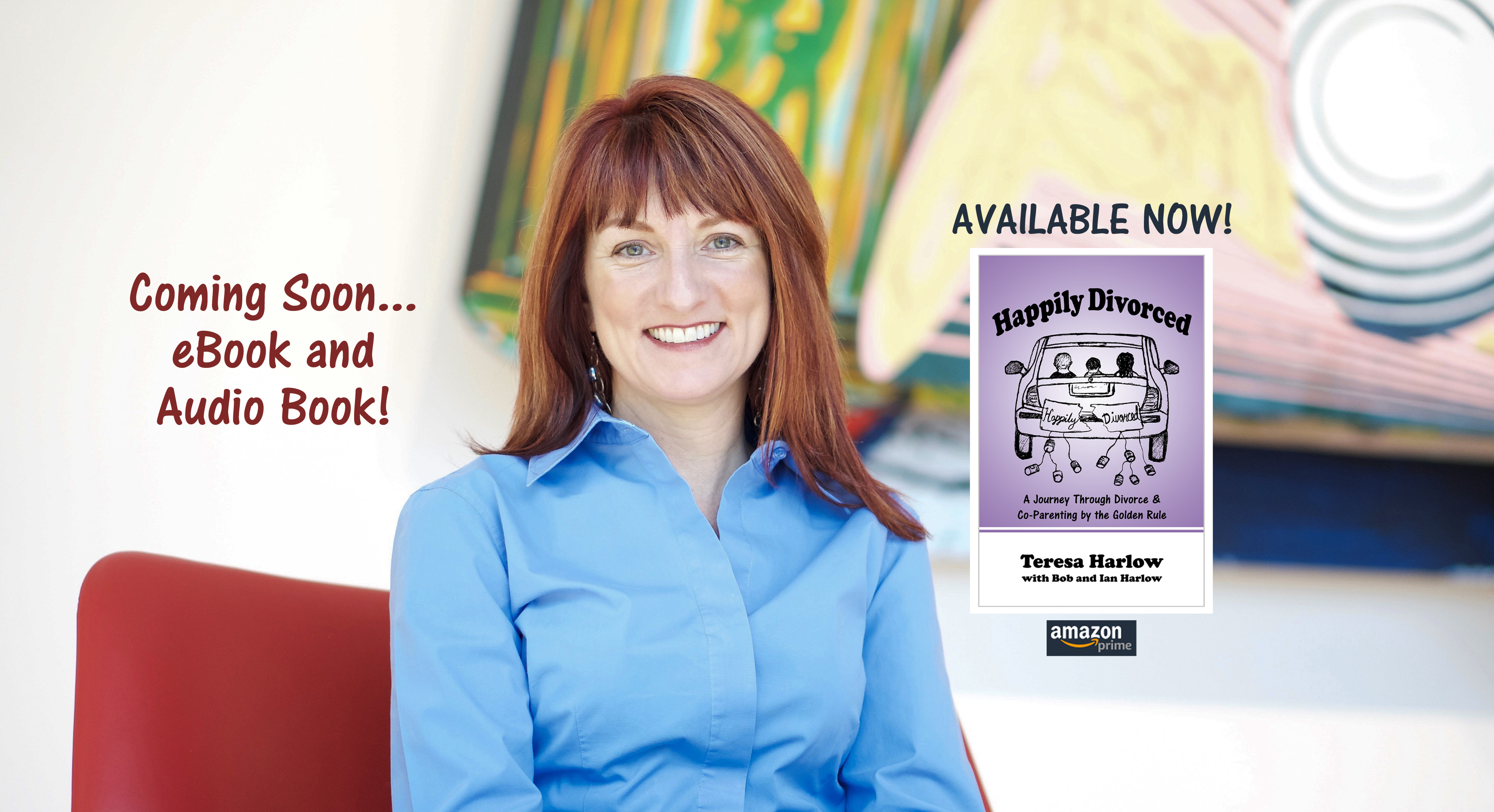 Happily Divorced available NOW!