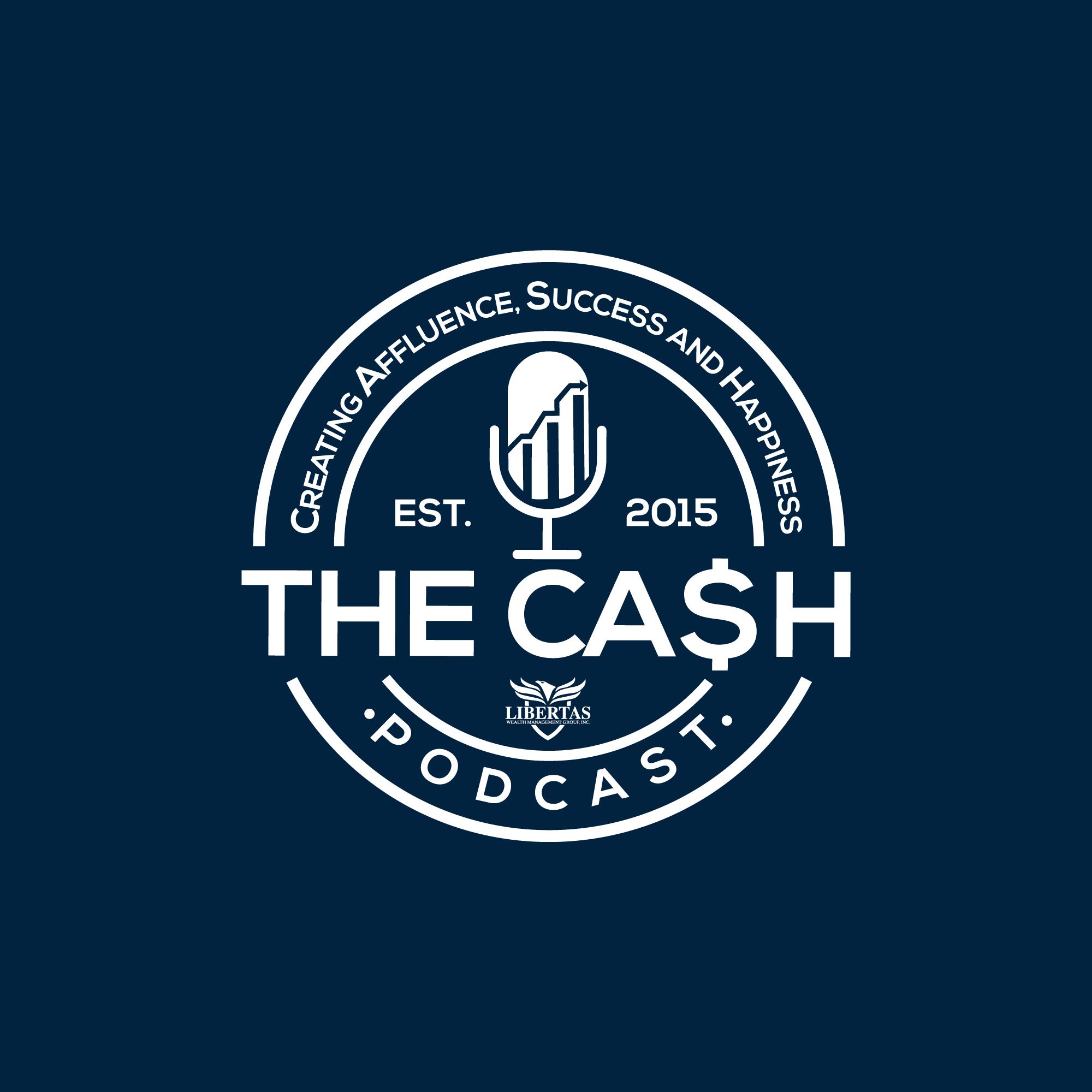 The CA$H Podcast logo